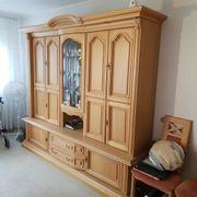 Wohnzimmer Essecke Schlafzimmer massiv Holz