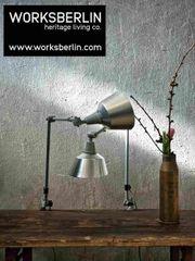Nie benutzte vintage Schreibtischlampen Kahla