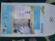 INTEX Aufblaspool inkl umfangreichem Zubehör