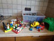 Lego Fussballstadion Legobahn Bauernhof uvm