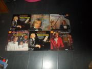 Sammlung LPs Claydermann 6 Stck