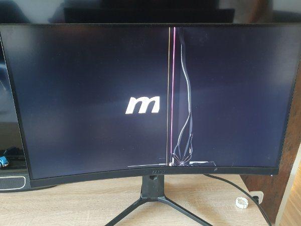 MSI Mag271 cr Monitor defekt