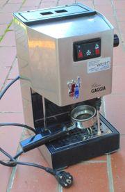 Zu verschenken an Espresso-Liebhaber GAGGIA Classic