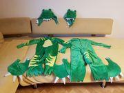 Faschingskostüm Dino Drache