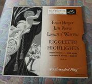VinylLp Schallplatte 7 Rigoletto Highlights