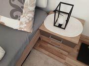 neuwertiges Gästebett mit 2 Nachttische