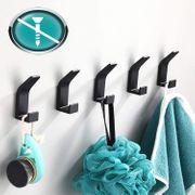5x Handtuchhalter zum Kleben neu