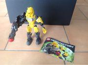 3 LEGO HEROFACTORY Figuren gelb