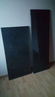 Geretsried Granit Küchenarbeitsplatten schwarz