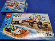 Lego Hubschrauber und Küstenwache Wasser