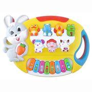 NEU Kinderklavier Gelb Musikorgel Spielzeugorgel