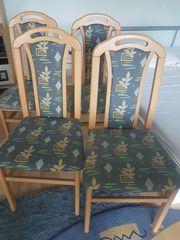 4 Stühle für Esszimmer