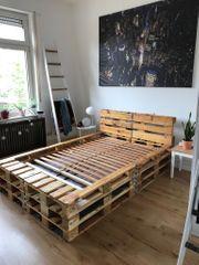 Palettenbett DIY 140cm x 200cm