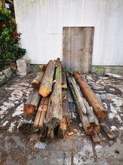 antikes Abbruchholz