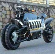 Mörder-elektrisches Motorradvierrad 60V1500W
