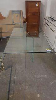 Esstisch aus Glas 220x110x75 hochwertig -
