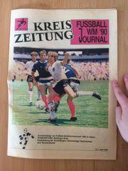 Fussball WM 90 Journal - Kreiszeitung