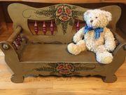 Bank für Puppen Teddybären