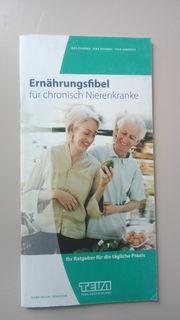 Ernähungsfibel für chronisch Nierenerkrank