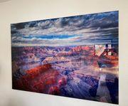 Glasbild 180 x 120 cm