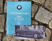 Betriebsanleitung BMW 502 V8 1961
