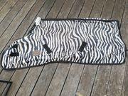 Zebra Fliegendecke von Horse Friends
