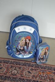Top Model Schulrucksack mit passendem