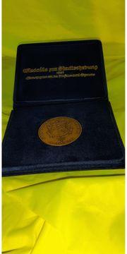 Medaille zur Stadterhebung Hohenems