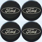 4x Ford Nabendeckel Felgendeckel Nabenkappen