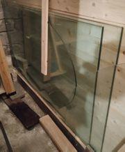 2 Flachglasplatten für Schreibtisch 12mm