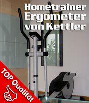 Kettler COMET Elliptical Cross-Hometrainer Multifunktionsdisplay
