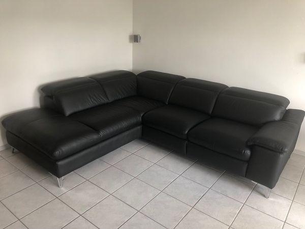 Ecksofa Ledersofa Sofa
