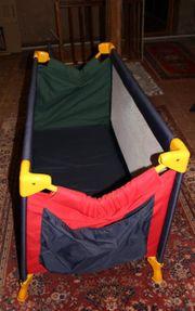Kinderbett Kinder-Reisebett Klappbett mit Matratze