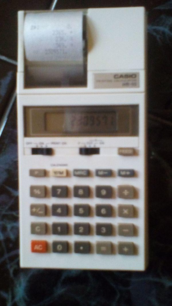 Tischrechner casio HR-10