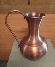 Kupferkanne Höhe 50 cm Made