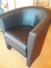 loungesessel schwarz 2 stück