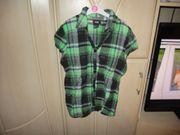 tolle bluse grün schwarz gr
