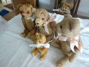 Sehr alte Teddybären