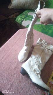 Neue Weiße Stiefel