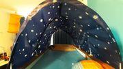 Kinderhochbett mit Sternendach