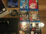 PS4 1Tb 6 Spiele