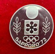 Silbermedaille Winterolympiade Sapporo Japan 1972