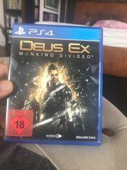 PS4 Spiel Deus Ex Mankind