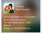 4 Tickets für Tipi am