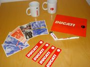 Ducati Set Mousepad 2 Tassen