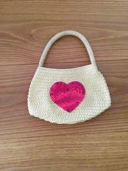 Tasche Kindertasche mit Herz Pailletten