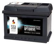 SIGA OptiDrive 63Ah 12V Autobatterien