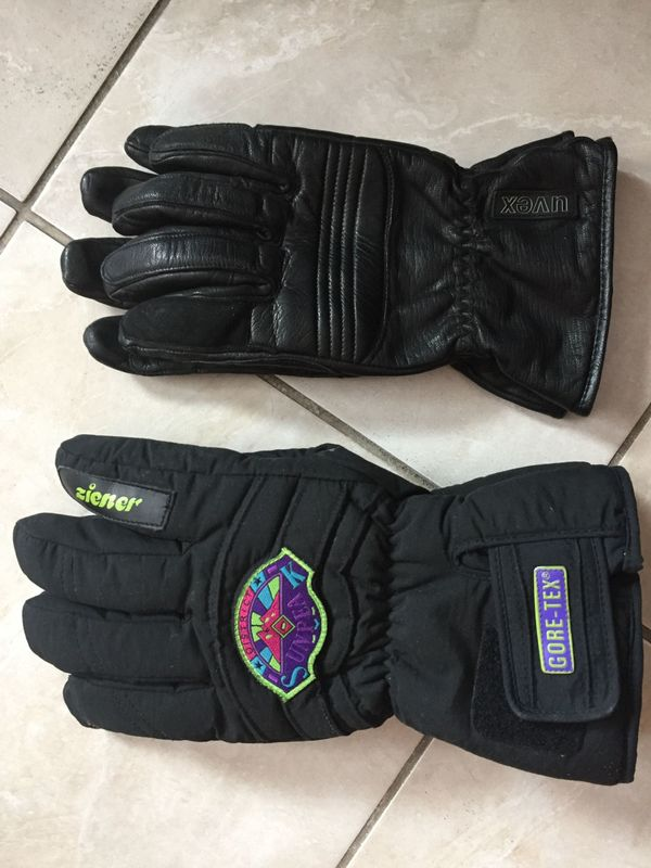 2x paar warme Winter Handschuhe