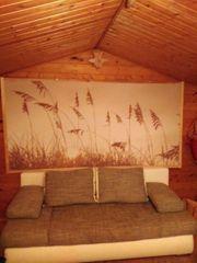 Fotobild mit Holzleisten