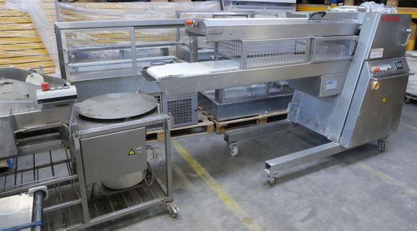 Brötchenanlage Teigbandmaschine König Artisan SFC
